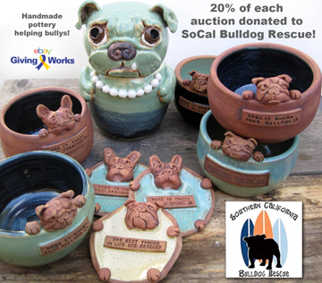 Sold for SoCal BULLDOG RESCUE