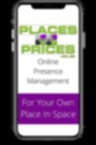 PlacesAndPrices - Online Presence Management