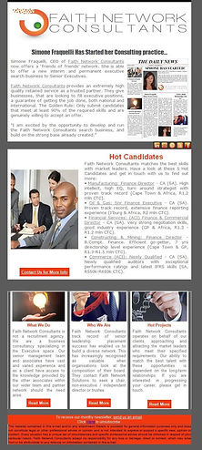 Faith Network Consultants Newsletters by PlacesAndPrices