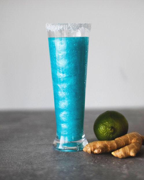 2 Blue Tornado Cocktails