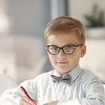 boy-in-black-and-white-striped-dress-shi