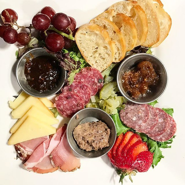 Farmers Market Charcuterie Plate! Kudos