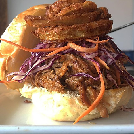 Pork. It's what's for lunch. Pulled with