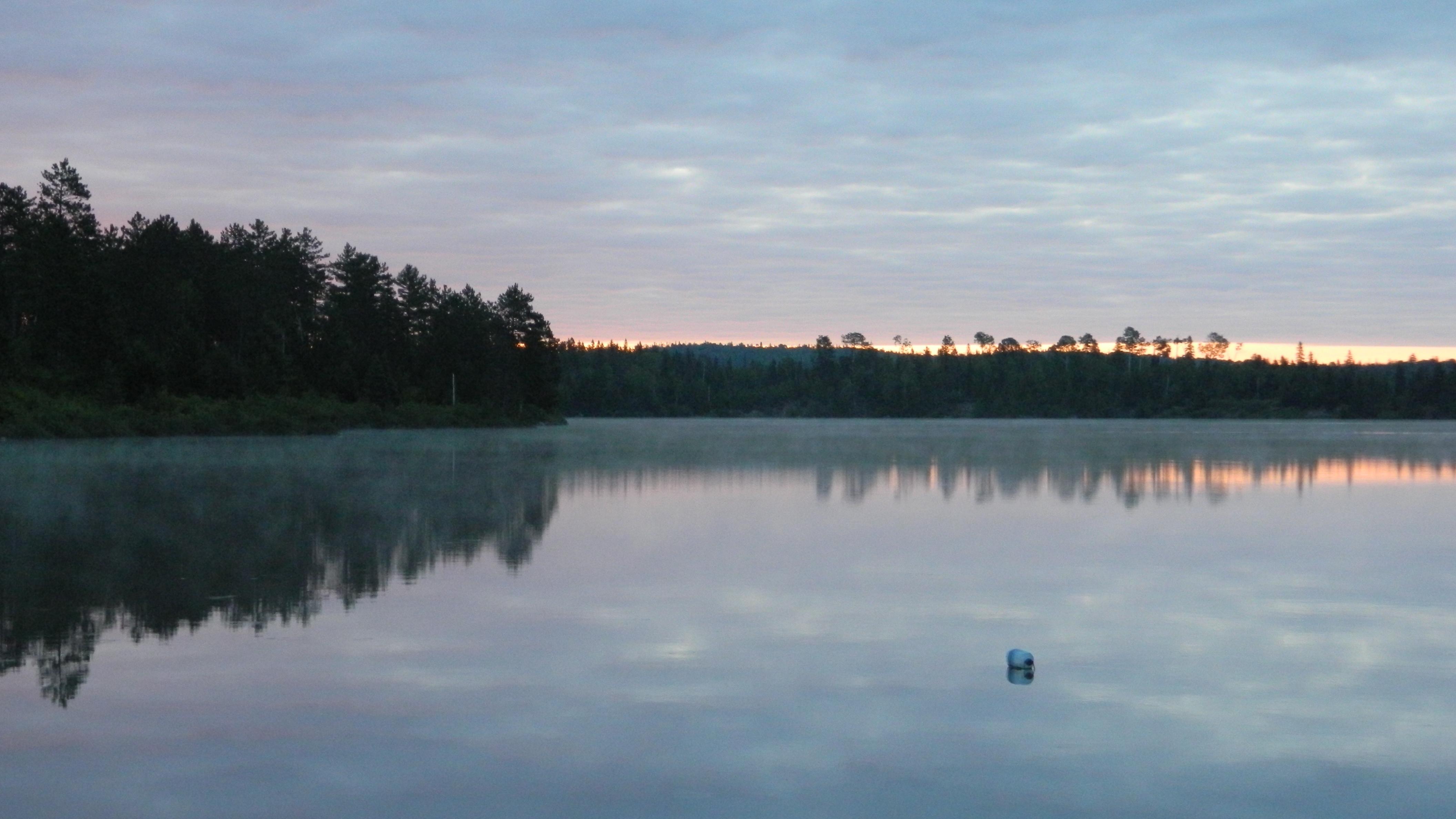 Lac calme