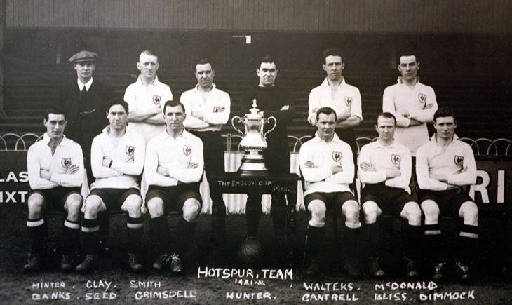 tottenham team 1921
