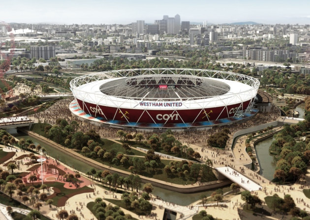 west ham united new stadion