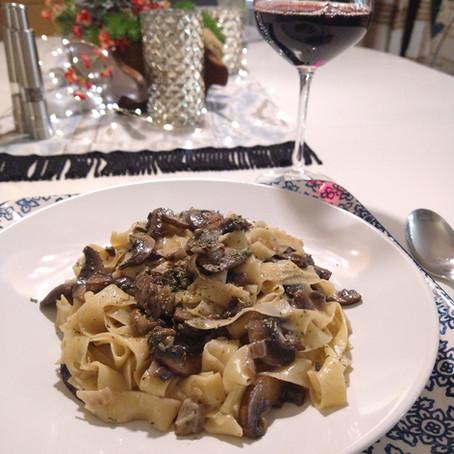 Mushroom & Taleggio Pappardelle