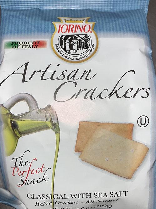 Artisan Crackers with Sea Salt
