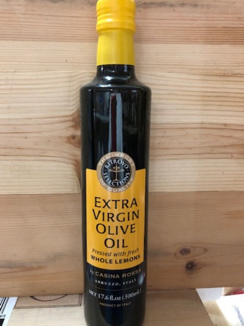 Extra Virgin Olive Oil Pressed with Lemons from Abruzzo