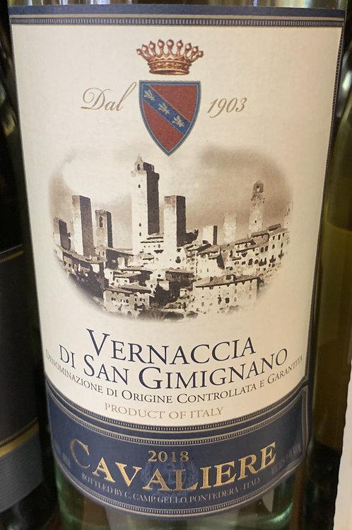 Vernaccia Di San Gimignano Cavaliere 2018 DOCG