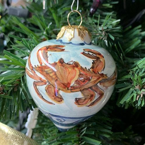 Small Tear Crab Ornament