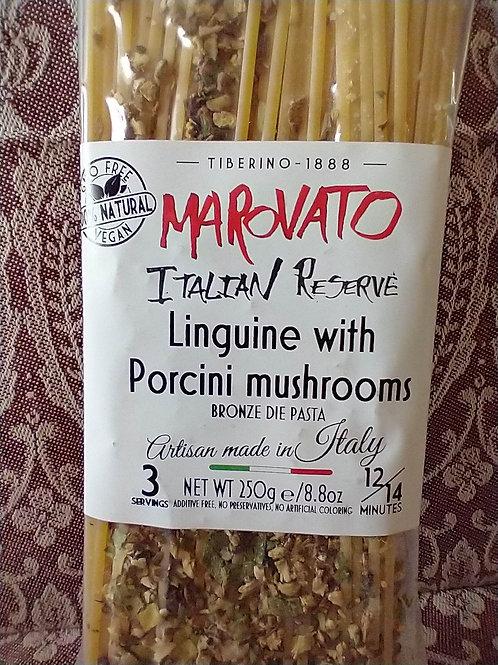 Marovato Linquine w/Porcini Mushrooms