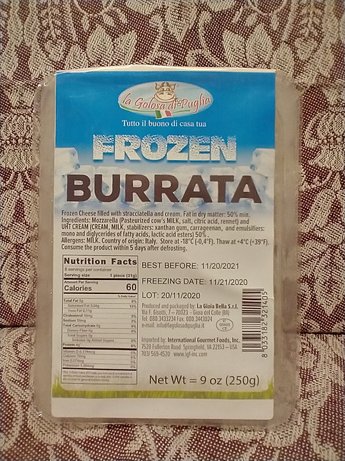 Frozen Burrata Cheese 9oz