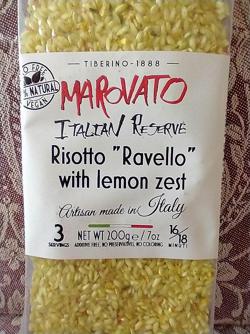 Marovato Risotto w/Lemon Zest