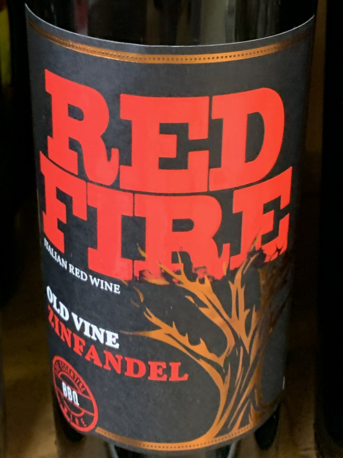 Red Fire Old Vine Zinfandel 2017