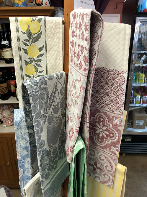 Hand woven Tea Towels from Italy