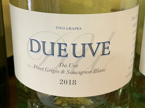 Due Uve Pinot Grigio & Sauvignon Blanc 2018