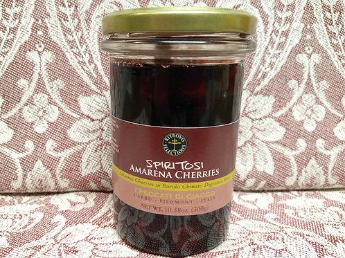 Amarena Cherries in Barolo Wine