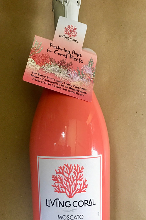 Living Coral Sparkling Rose Moscato
