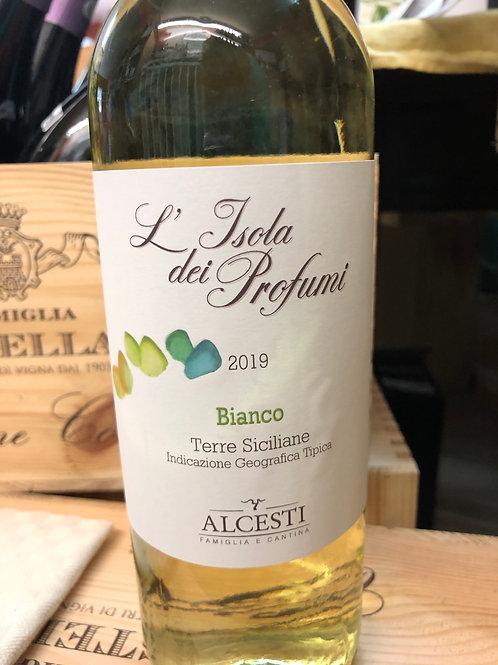 Alcesti L'isola Dei Profumi Bianco  Ava. in store only
