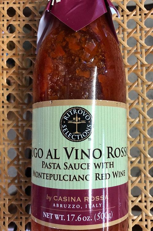Sugo Ai Vino Rosso , Pasta Sauce with Montepulciano Red Wine