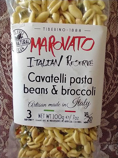 Marovato Cavatelli w/Beans & Broccoli