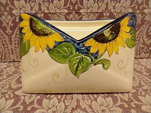 Postal Holder Sunflower