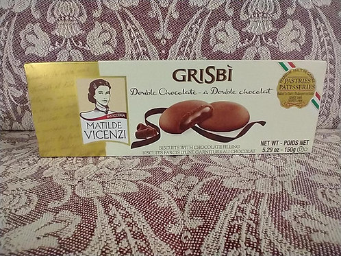 Grisbi Chocolate Cream Biscuits