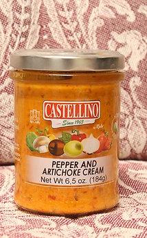 Pepper and Artichoke Cream