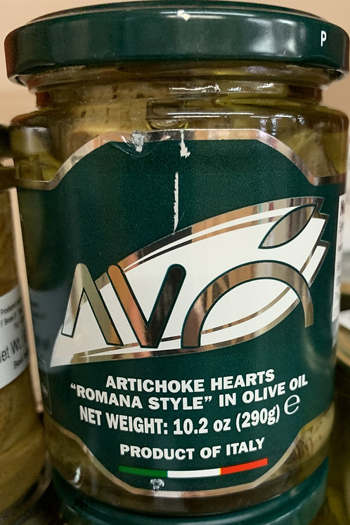 Artichoke Hearts in Olive Oil