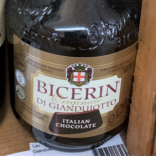 Bicerin Di Gianduiotto Italian Chocolate Liqueur