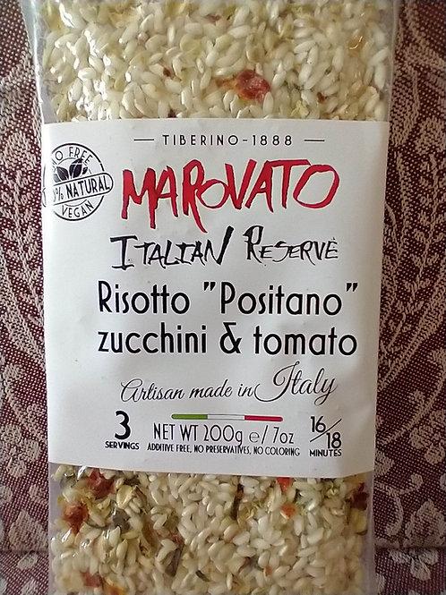 Marovato Risotto w/Zucchini & Tomato