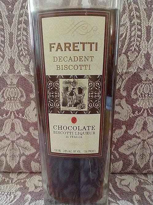 Faretti Chocolate Biscotti Famosi Liqueur