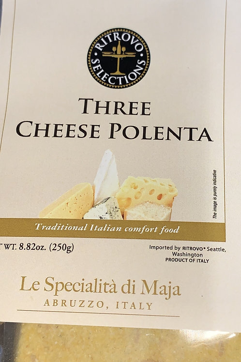 Three Cheese Polenta