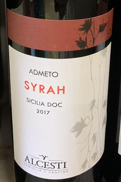 Alcesti Syrah Sicilia 2017 DOC