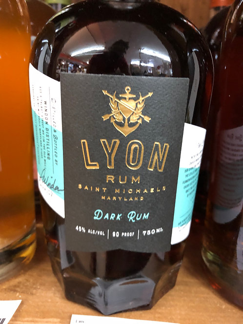 Lyon Dark Rum, 750 ml