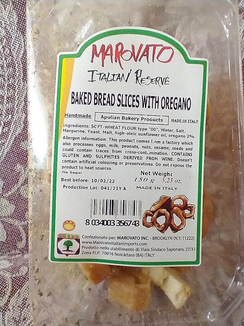 Marovato Baked Bread Slices w/Oregano