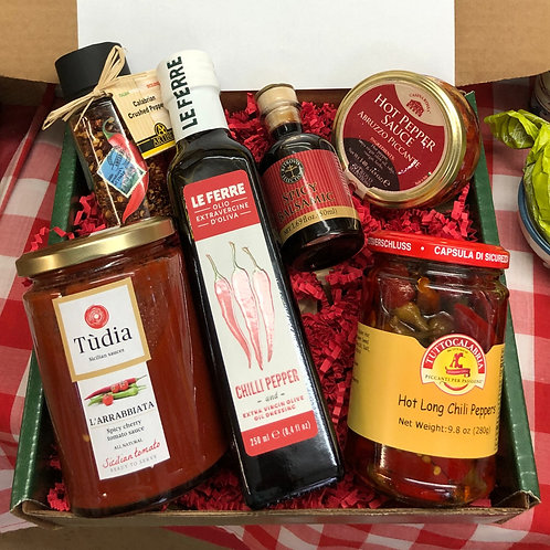 Spicy Lovers Gift Basket