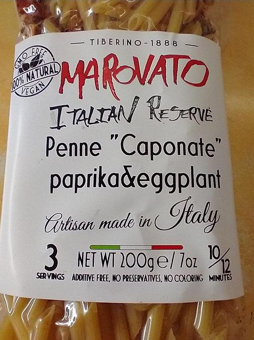 Marovato Penne Caponate w/Paprika & Eggplant