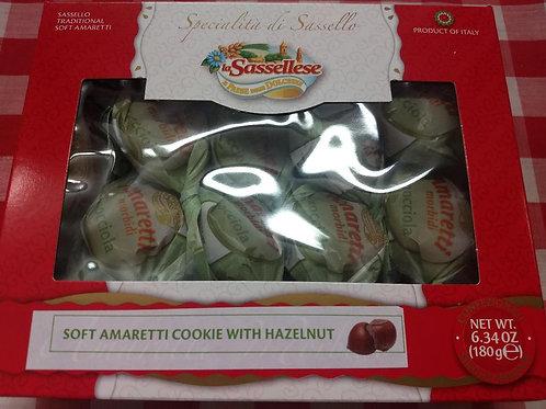 Soft Amaretti with Hazelnut