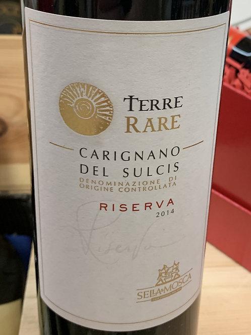 Terre Rare Carignano Del Dulcis Riserva 2014 DOC
