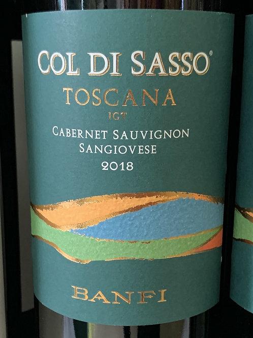 Col Di Sasso Toscana Cabernet Sauvignon Sangiovese 2018