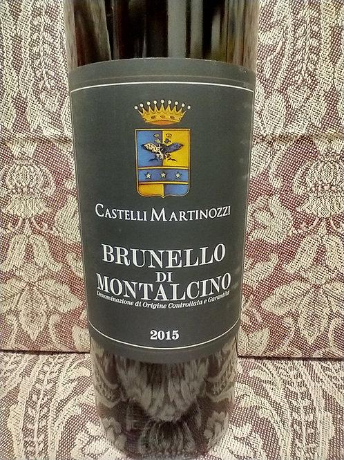 Castelli Martinozzi Brunello Di Montalcino 2015