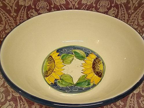 Sunflower Serving Bowl 30 cm