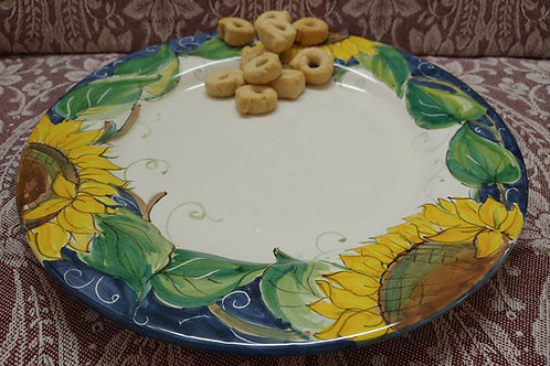 Rampini 28cm Dinner Plate Sunflower