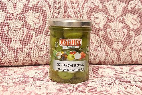 Sicilian Sweet Olives