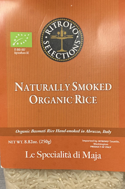Naturally Smoked Organic Rice