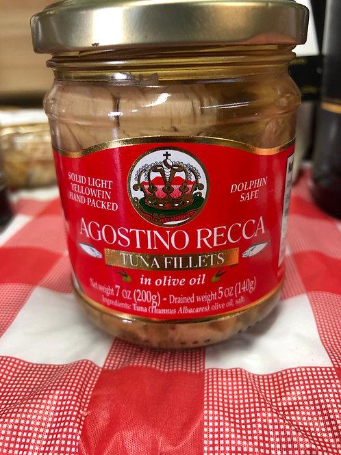 Agostino Recca Tuna Fillets in olive oil