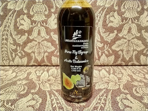 Fig Syrup with Balsamic Vinegar