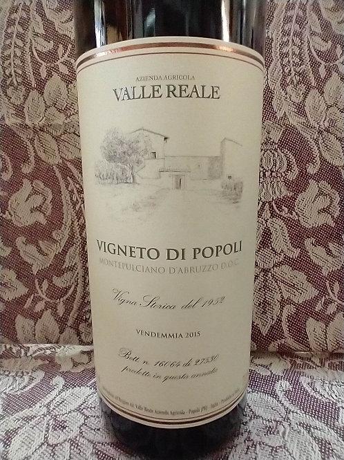 Valle Reale Vigneto di Popoli Montepulciano d'Abruzzo DOC 2015